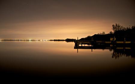 Картинки ночные пейзажи, фото, вода, обои для рабочего стола