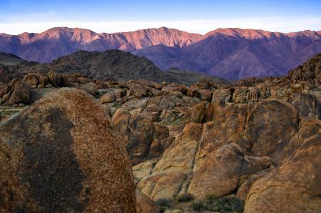 Обои каньон, валуны, горы