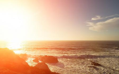 Картинки природа, море, волны