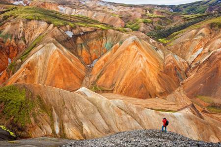 Обои Исландия, скалы, камни, эрозия