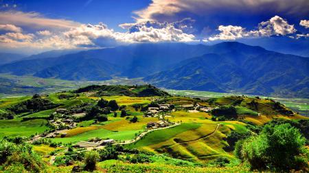 Фотографии Пейзаж, горы, холмы, долина