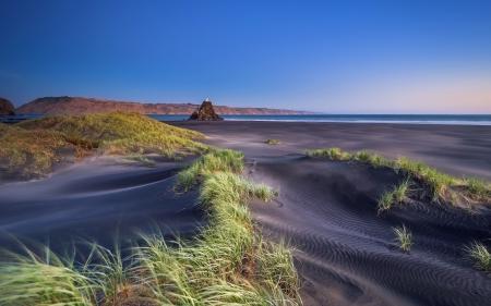 Картинки море, дюны, пейзаж