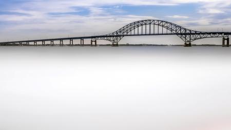 Картинки река, мост, пейзаж