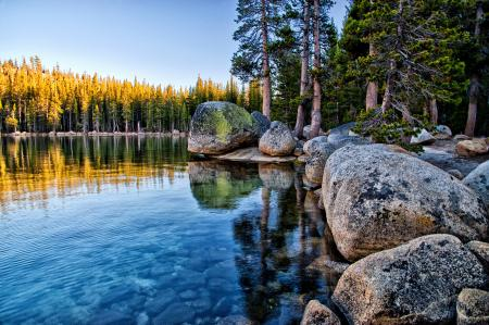 Фото Tenaya Lake, Yosemite National Park, California, озеро Теная