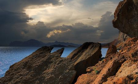 Фотографии Крым, горы, Черное, море