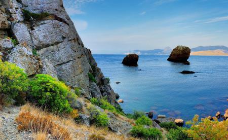 Фото Крым, горы, Черное, море