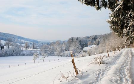 Картинки дорога, зима, снег