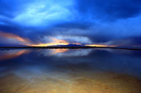 Фотографии озеро, залив, вода, небо