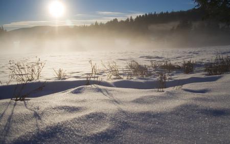Заставки зима, снег, сугробы, зимние обои