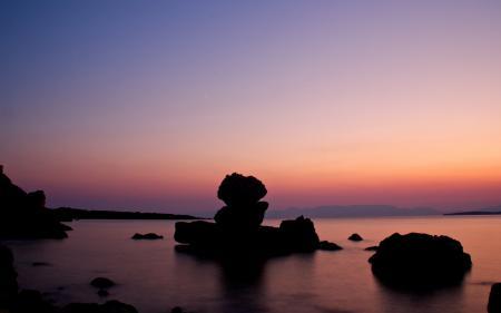 Заставки вечер, фото, пейзажи, берег