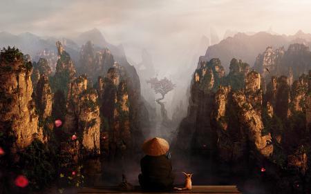 Фотографии горы, шляпа, spartan