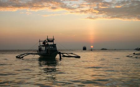 Фотографии Фото, Лодки, Судна, Океан