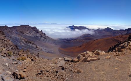 Обои Халеакала, вулкан, Haleakala, Volcano