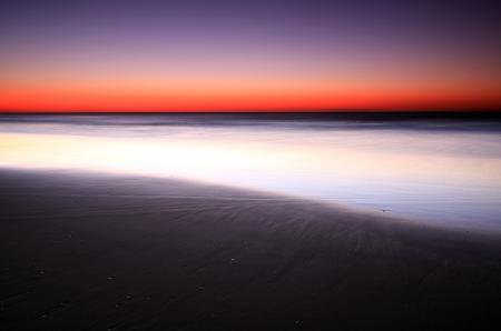 Фотографии море, закат, пляж