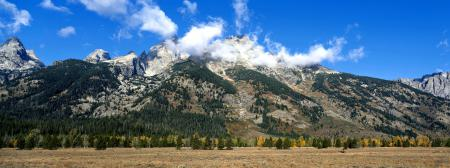 Картинки Горы, Холмы, Склон, Лес