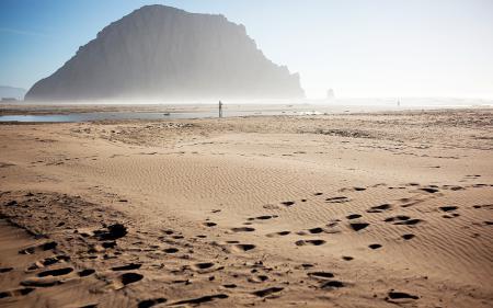 Картинки море, песок, гора