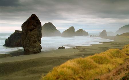 Фото Море, побережье, камни, песок