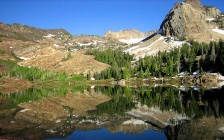 Картинки Природа, пейзаж, горы, лес