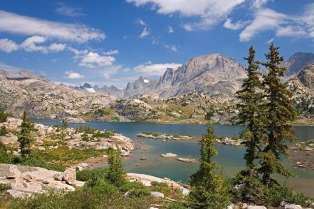 Заставки USA, Bridger National Forest, Bridger Wilderness, Island Lake