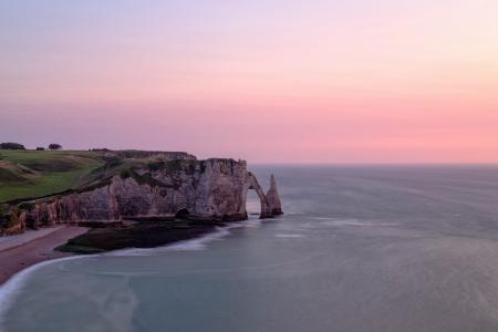Картинки море, берег, скалы, закат