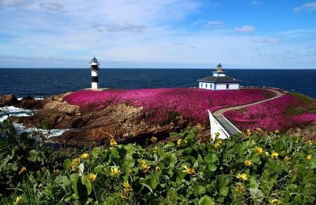 Заставки Pancha Island, Galicia, Spain, Illa Pancha