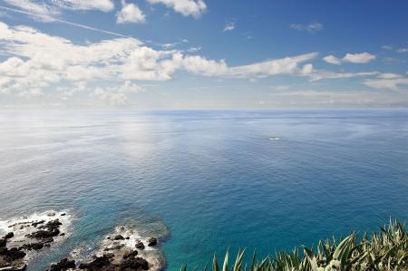 Обои Море, простор, горизонт, побережье