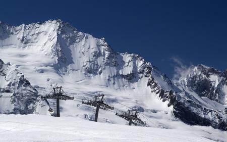 Фотографии Snow morning, ski lift, зима, склон