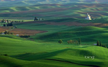Картинки природа, пейзаж, пейзажи, поле