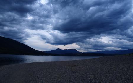 Фотографии Пейзаж, берег, горы, небо