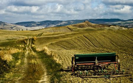 Заставки урожай, поле, поля, холмы