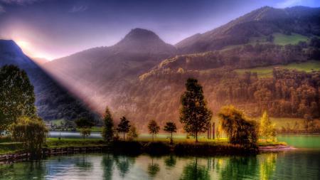 Фото природа, пейзаж, небо, облаках