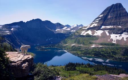Картинки Природа, пейзаж, горы, озеро