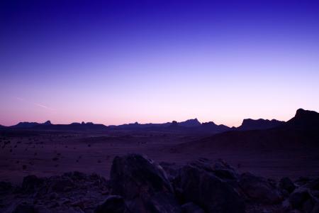Заставки пустыня, долина, камни, небо