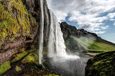 Фотографии водопад, река, пейзаж