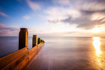 Фото Англия, Shoreham beach, море, берег