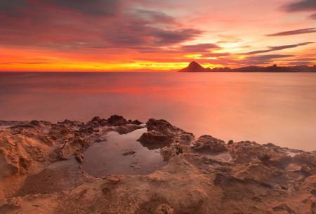 Фото Испания, Мурсия, Aguilas, средиземное море