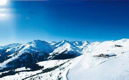 Фотографии пейзаж, горы, снег, склоны