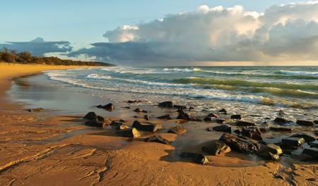 Заставки австралия, берег, камни, волны