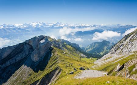 Фотографии горы, дорожки, высота