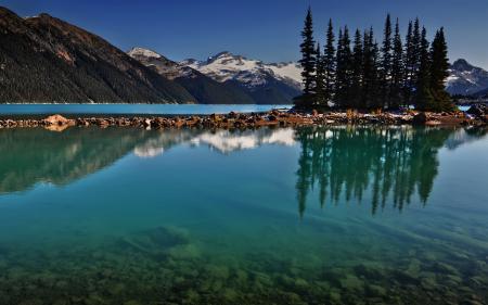 Картинки горы, озеро, вода, отражение