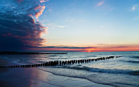 Заставки море, берег, пляж, вода