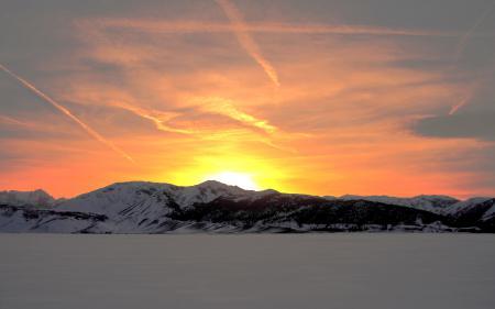 Картинки Snowbird, снег, зима, горы