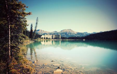 Заставки озеро, лес, курорт