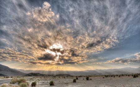 Обои пейзажи, пустыня, пустыни, небо