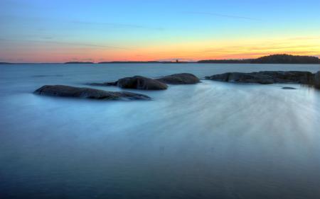 Картинки пейзажи, вода, камни, море