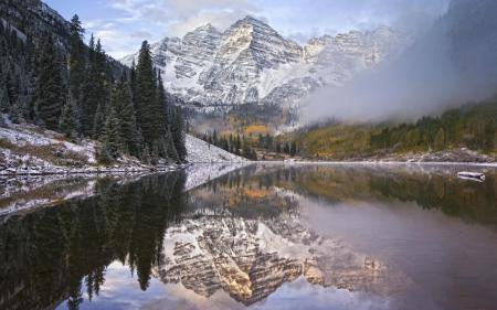 Обои Природа, пейзаж, озеро, горы