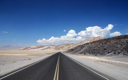 Фото дорога, горы, небо, пейзаж