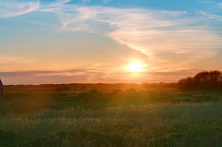 Фотографии Природа, пейзаж, утро, солнце