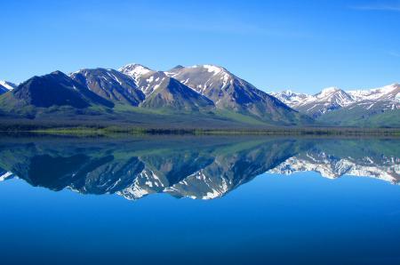 Фото Пейзаж, природа, озеро, горы