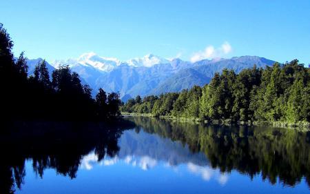 Обои Природа, пейзаж, озеро, лес